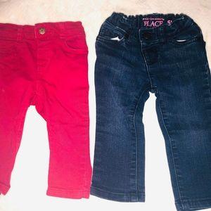2 for 5$ Toddler Girl Jeans